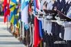 Во время Крестного хода военные были при полном параде