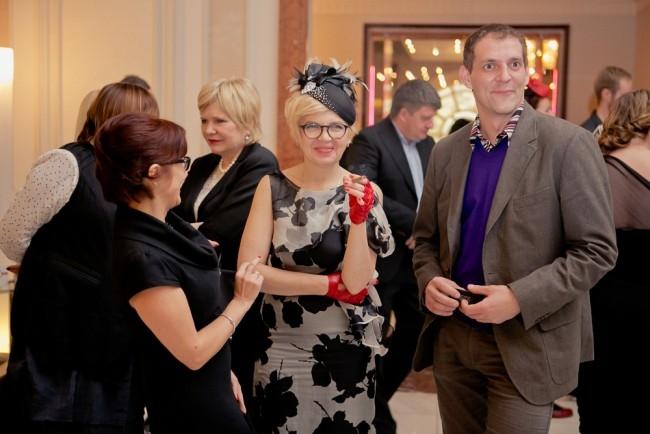 Руководитель пресс-центра «АиФ-Петербург» Наталья Ланцова(в центре)