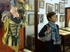 Супруга Министра финансов Италии Лучана Сангуинетти во время посещения Академии русского балета имени А.Вагановой