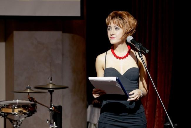 Ведущая церемонии Мария Соколова