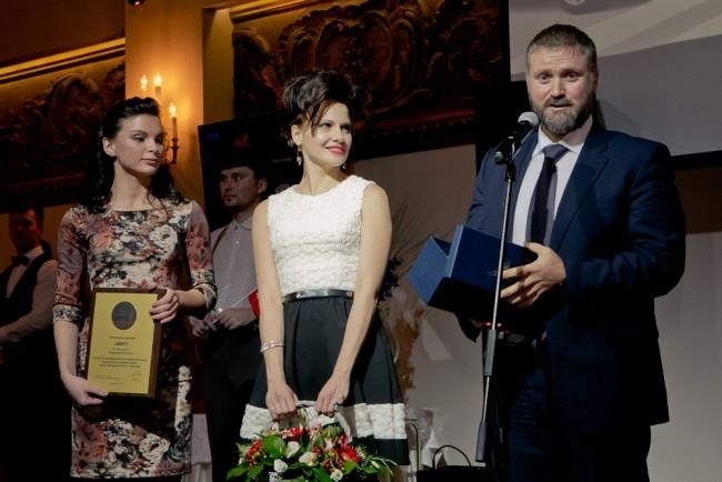 СПбГМУ имени академика И. П. Павлова забирает свою награду в номинации «Будущее России»