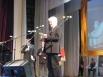 Еще один конкурсант Геннадий Амосов приехал к нам из Пряжского района. Спев песню «Хмуриться не надо, Лада» Геннадий Дмитриевич заслужил бурные овации зала.