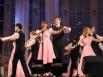 Традиционно конкурс начался с выступления танцевальных коллективов Кировки