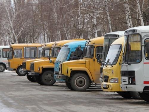 Автобусы для митингующих