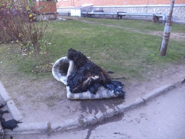В роддоме загорелись матрасы в подвальном помещении