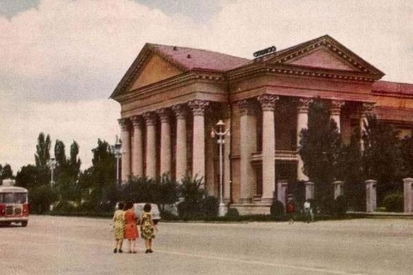 Краевая библиотека имени Лермонтова.
