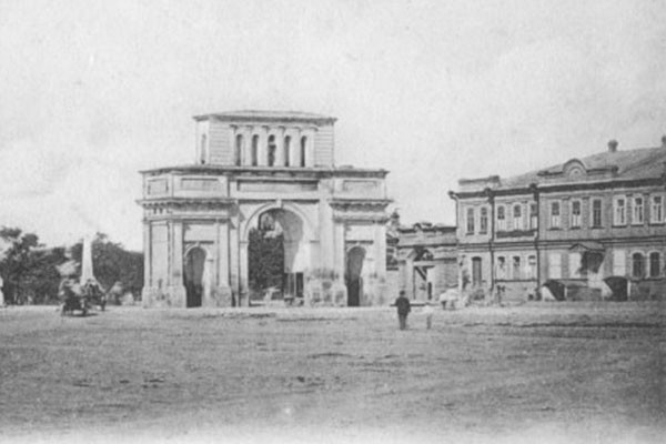 Тифлисские ворота.