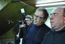 Коллеги-журналисты и фотолюбители.