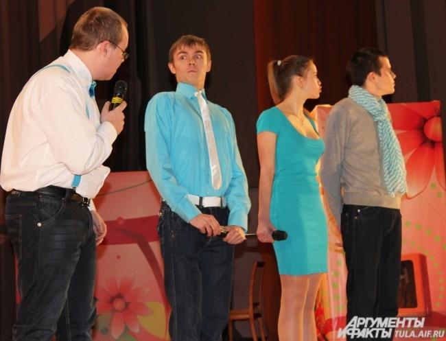 Команда Политеховской лиги КВН «С точностью до наоборот», 2012-й год