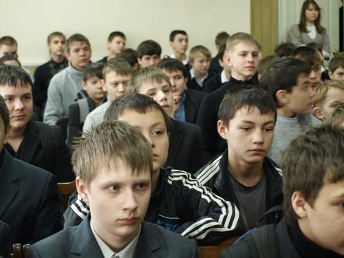 Будущие защитники Отечества.