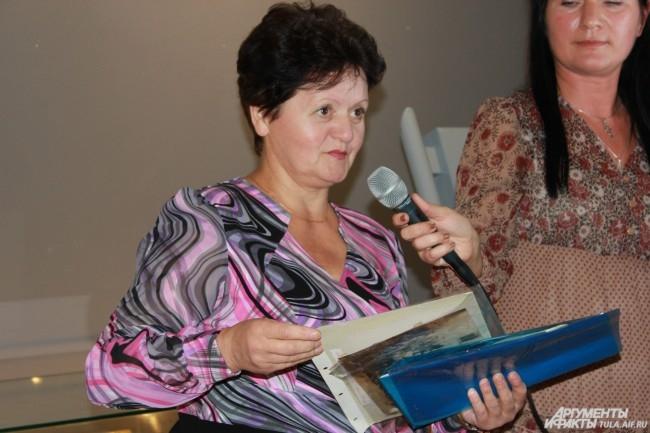 Придя на выставку, Ольга Моржова попала в детство
