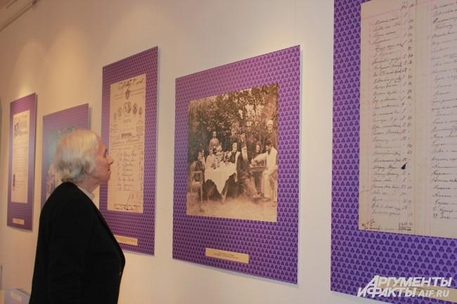 Гости могли увидеть не только книги ,но и фотографии из семейного архива Толстых