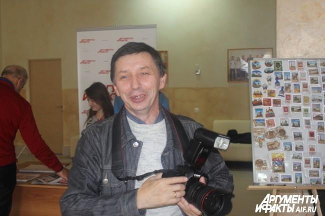 Фотограф «Тульских известий» Андрей Лыженков