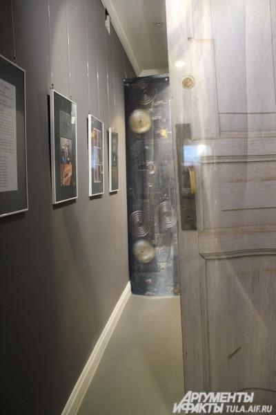 Вход в выставочный зал