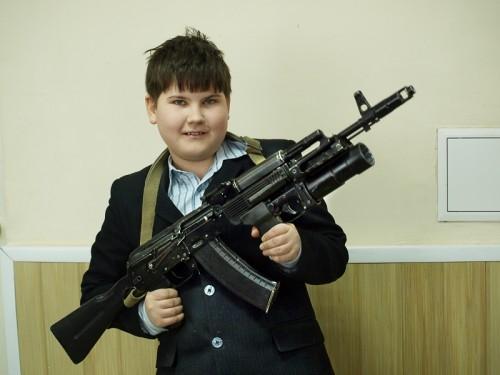 Будем надеяться, что этому поколению не придется применять оружие в боевой обстановке.