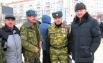 Советник губернатора Владимир Мурадов и представители казачества.