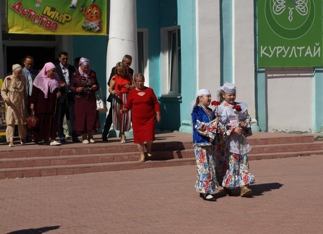Курултай проходил в Центре татарской культуры.