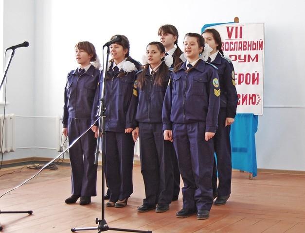 Карсунские кадеты – опора православия.