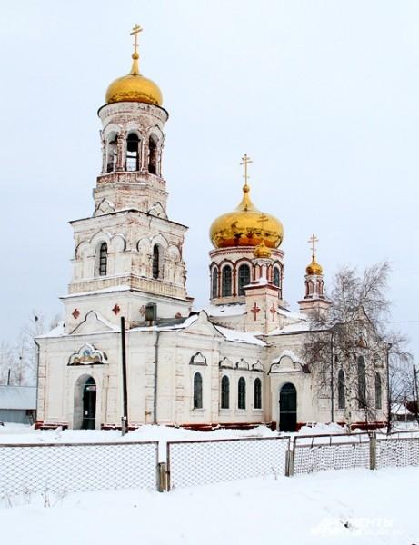 Самое величественное здание Мелекесского района.