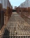 Скоро стальной каркас будет залит бетоном.