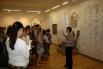 В выставочных залах были организованы целые уголки, которые с легкостью можно было представить в деревянной избе