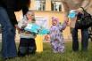 5.Программа праздника была рассчитана на детей разного возраста, поэтому скучно не было даже самым маленьким героям дня
