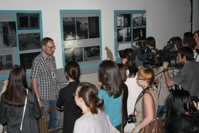 Посетители Ночи музеев смогли отправиться в уникальное путешествие по (не)видимой жизни дворов эпохи конструктивизма