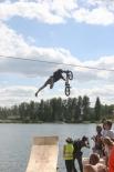 Соревнования по Water Jumping на Среднем Урале проводились считанные разы, между тем мастеров в этом виде спорта, как выяснилось, немало