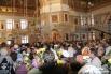 Явленный в новом облике собор впервые после реконструкции принял прихожан.