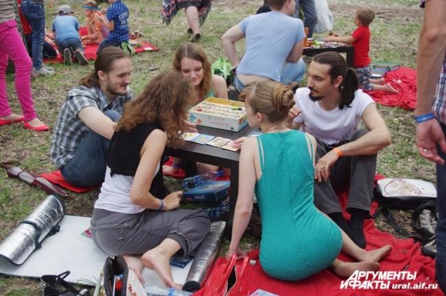 Были в этот день в парке и другие, не менее увлекательные, забавы