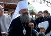 В этом году Крещальную литургию возглавил митрополит Екатеринбургский и Верхотурский Кирилл.
