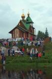Праздник проходил в живописнейшем месте, у храма Князя Владимира.