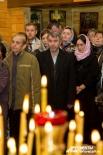 Освященный храм уже собирает на вечерние и утренние службы прихожан – жителей Пионерского микрорайона Екатеринбурга.