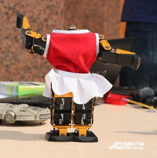 Танцующие роботы построены на базе научно-производственного института «Учебная техника и технология» при ЮУрГУ. По словам разработчиков,  в программе роботов заложено три современных танца. Роботы умеют танцевать как синхронно, так и полностью индивиду
