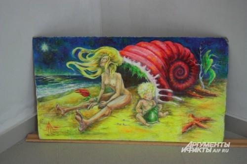 Все работы, представленные на экспозиции – это не только рисунки, это вскрытые души.