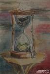 Желающие могут приобрести понравившуюся картинку прямо на выставке.
