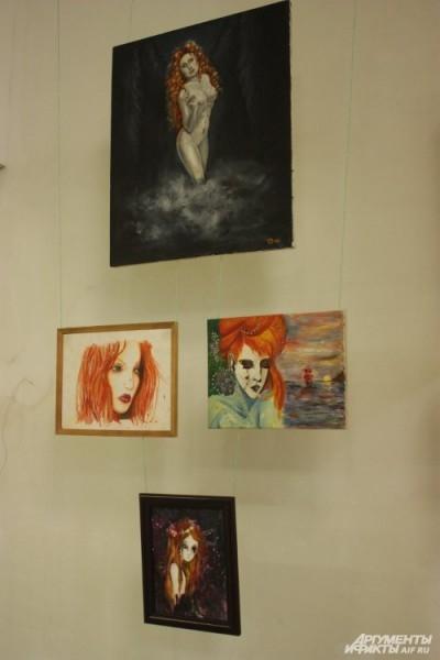 У разных художников демон является в образе огневолосой Лилит – первой жены Адама в каббалистической теории.