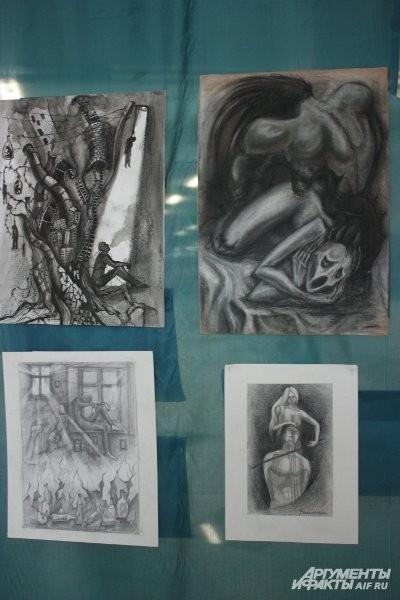 Автор этих картин – молодая художница Алена Афонькина.