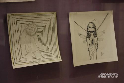 Несмотря на схожесть картин, авторами произведений являются дети из разных городов и разных судеб.