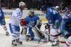 В этот раз хоккеисты обеих команд отличились большим количеством забитых шайб. Только один Евгений Кузнецов забил целых четыре гола.