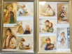 А так же репродукции открыток конца XIX века с поздравлениями и тёплыми пожеланиями.