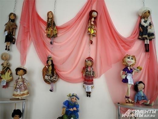 Очень интересны своим многообразием авторские куклы.