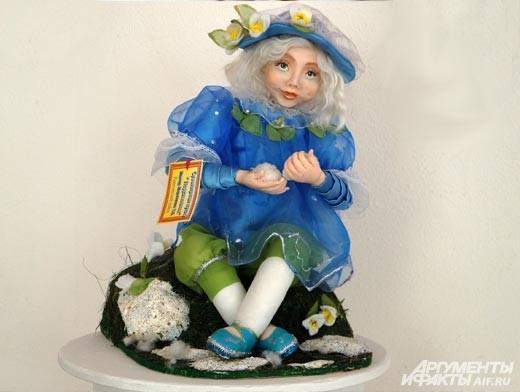 Некоторые мастера придают своим куклам сюжетность, несомненно, это привлекает к ним особенное внимание.