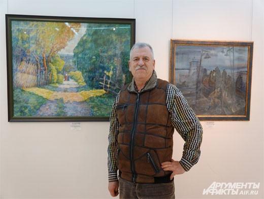 Пётр Лесовой – председатель Белгородского регионального Творческого Союза Художников.