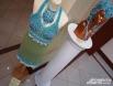 Комплект «Царевна-лягушка» из кружева и бисера