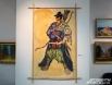 «Воин света» стилистически выбивается из общего ряда картин, но, несомненно, продолжает тематику Солнца.