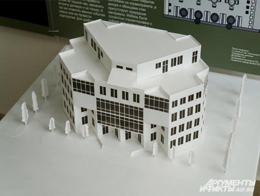 Каждый выпускник представил проект не только на словах и картинках, но и в наглядной миниатюре из бумаги и пластика.