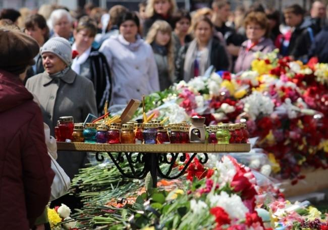 Лампады в память о погибших