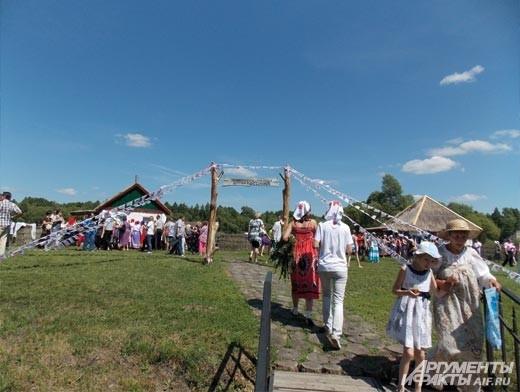 этнографическая деревня Кострома