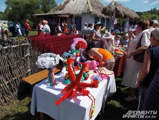 игрушки белгородских мастеров
